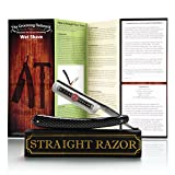 "Gold Dollar – Shave ready Straight Razor (6/8"", Round Tip, Carbon Steel)"