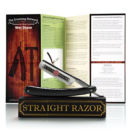 carbon steel straight razor - 3