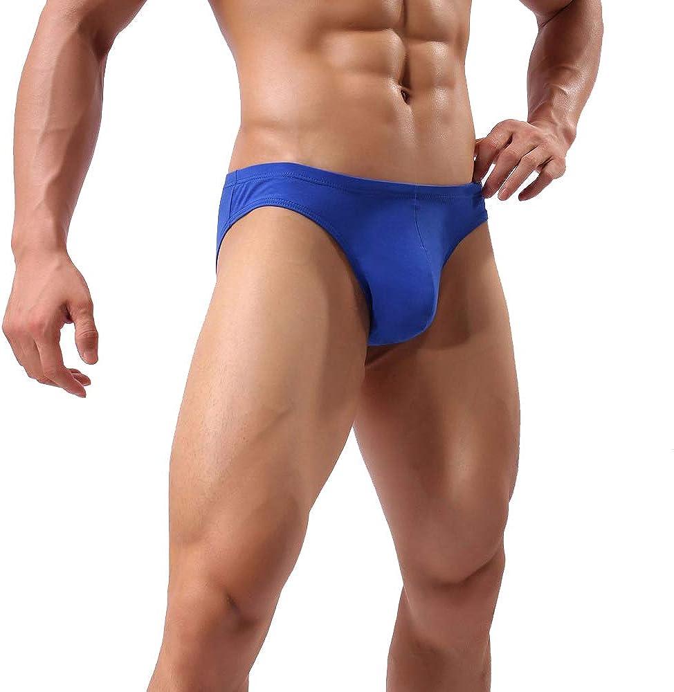Nightaste per Uomo Confezione da 2-4 Intimi Mutande Bikini a Vita Bassa in Cotone con Elastico