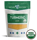 USDA Certified Organic Turmeric Powder with Natural Curcumin, Non-GMO and Gluten-Free (8 ounces) For Sale