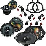 Fits Chrysler PT Cruiser 2001-2005 OEM Speaker Upgrade Harmony Premium Speakers Package