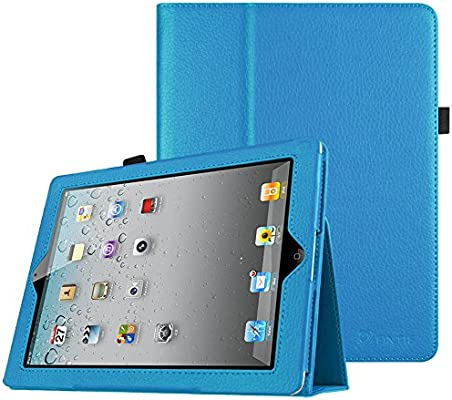 timeless design a98ff a6715 Fintie iPad 2/3/4 Case - Slim Fit Folio Stand Case Smart Protective Cover  Auto Sleep/Wake Feature for Apple iPad 2, iPad 3 & iPad 4th Generation with  ...