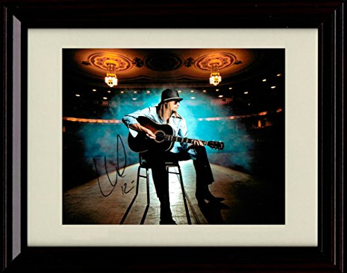 Framed Kid Rock Autograph Replica Print