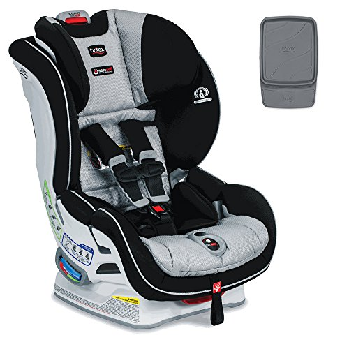 Britax Boulevard ClickTight Convertible Car Seat With Vehicle Seat Protector, Trek