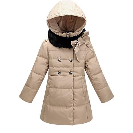 Moin Gruesos cálidos niños de la chaqueta abajo niñas abrigo pluma de la moda nuevo de