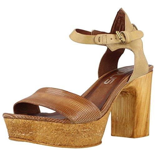 Sandalias y chanclas para mujer, color marr�n , marca MJUS, modelo Sandalias Y Chanclas Para Mujer MJUS QATAR 03 Marr�n marr�n