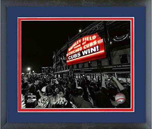 (Wrigley Field Chicago Cubs 2016 World Series Game 7 Spotlight Photo (Size: 12.5