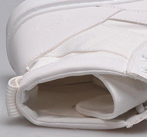 Sport Boots Chaussures Automne Antidérapage Bottines Lacets Vintgae Baymate Martin Blanc Classiques Flattie Bottes Femme À qg0xXw8
