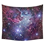 Xinhuaya Nebula Tapestry Space Decorations Galaxy Stars in Space Celestial Astronomic Planets in the Universe Milky Way Print, Bedroom Living Room Dorm Wall Hanging Tapestry