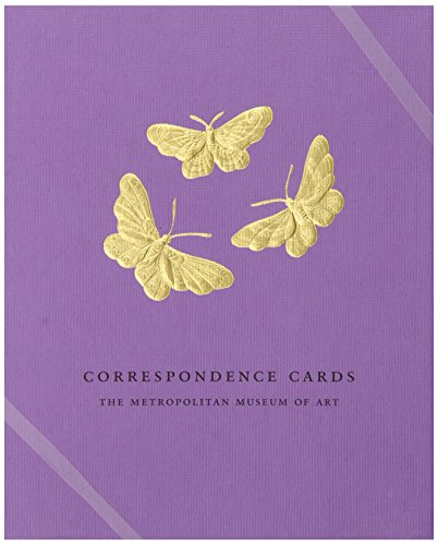 Boston International Metropolitan Museum of Art Boxed Correspondence Cards Butterflies