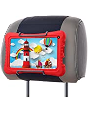 WANPOOL Car Headrest Mount for Dragon Touch 7-Inch Tablet with Silicon Case and Other Androids Kids Tablets