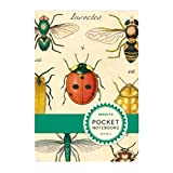 Cavallini Pocket Notebook Set Insects, 2.75-Inch by 4-Inch, Contains 2 Pocket-Sized Notebooks