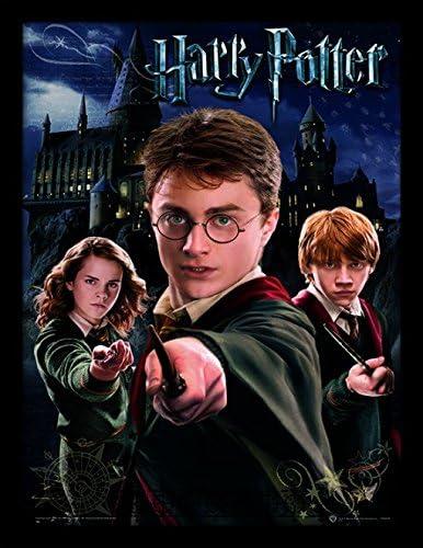 HARRY POTTER 30 x 40 cm Harry Ron Hermione impresión ...