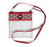 Desden Georgia Bulldogs Clear Gameday Crossbody Bag
