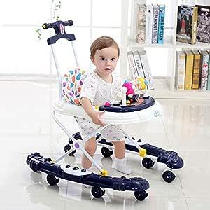 WUYY Andadores Beby 2 En 1 Multifuncional Anti-Rollover Bebé Niña ...