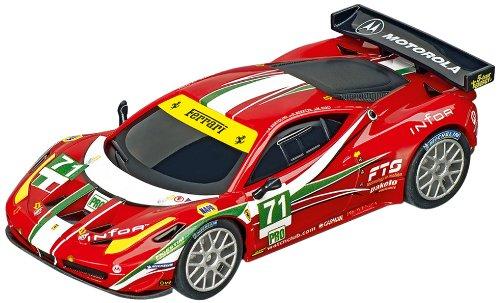 Carrera Go - 20061277 - Radio Commande, Véhicule Miniature et Circuit - Ferrari 458 Italia GT2 - AF Corse - No.71