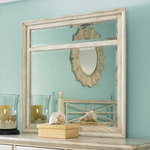 American Drew Americana Home Mirror in Weathered -