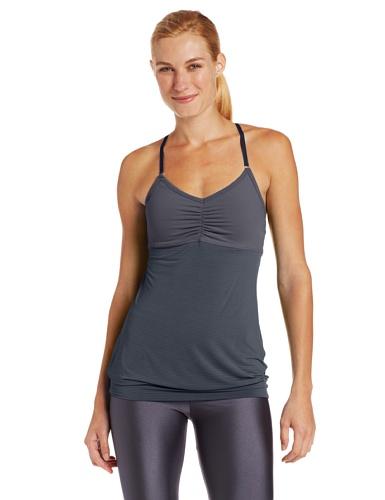 Beyond Yoga Women's Low Back Cami, Steel Stripe, X-Small