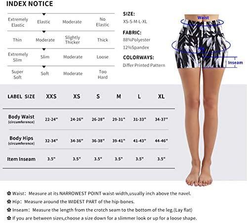 Zengjo High Waisted Workout Shorts for Women