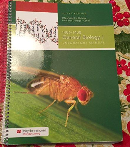 Biology 1406/1408 Lab Manual