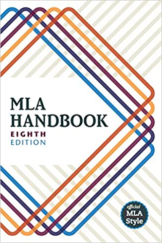 mla handbook 8th edition kindle edition