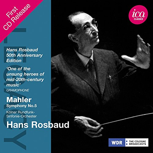 Price comparison product image Hans Rosbaud - Legacy: Mahler