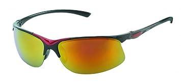 Chic-Net Sonnenbrille Herren verspiegelt 400 UV breit schmal Scharnier bunt Bügel gelb Ryrxe7dec
