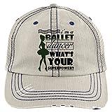 I Love Ballet Hat, I Am A Ballet Dancer Trucker Cap (Trucker Cap - Putty)