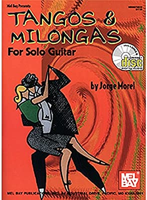 Tangos And Milongas For Solo Guitar (Book and CD). Partituras, CD ...