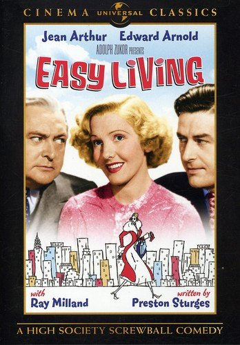 Amazon.com: Easy Living (Universal Cinema Classics): Jean Arthur, Edward  Arnold, Ray Milland, Mitchell Leisen: Movies & TV