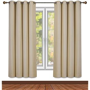 Amazon Com Reflective Window Curtain Panel Home Amp Kitchen