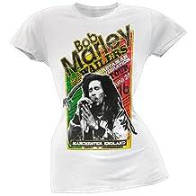 Bob Marley - 1976 Wailers Rastaman Tour Juniors T-Shirt