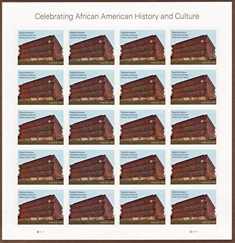 USPS 2017 History of African American History And Culture Sheet of 20 Forever Stamps Scott 5251