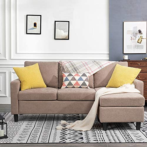 JY QAQA Convertible Sectional Sofa Couch