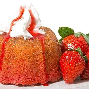 Mayan Fiesta Golden Rum cake, 4 ounce (Strawberry)