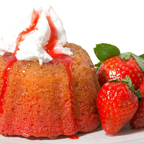 Mayan Fiesta Golden Rum cake, 4 ounce (Strawberry)