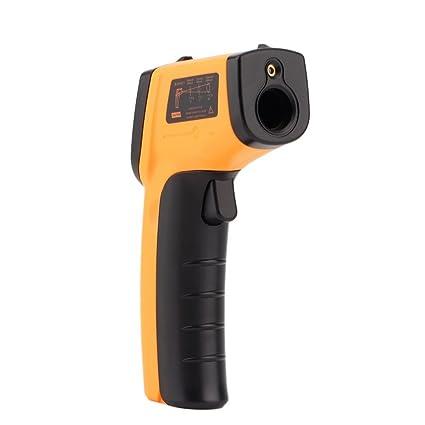 leshp GM320 Digital Laser infrarrojo Termómetro/pirómetro Contacto Medidor de temperatura Temperatura Cuchillo de 50