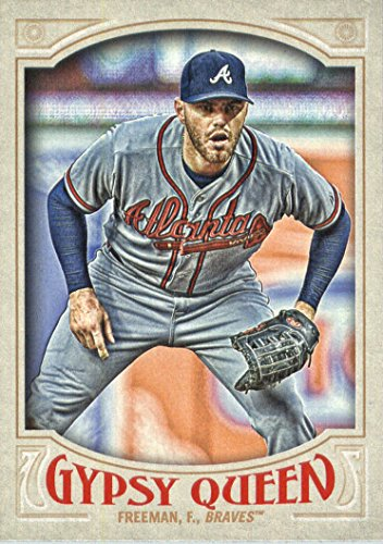 2016 Topps Gypsy Queen Baseball #8 Freddie Freeman Atlanta Braves
