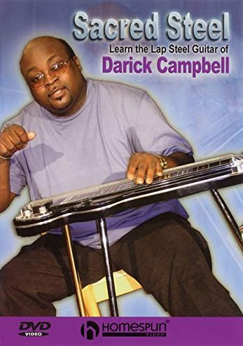 DVD-Sacred Steel-Learn the Lap Steel Guitar of Darick Campbell by Hal Leonard