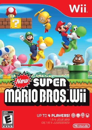 New Super Mario Bros. Wii (Best 4 Player Wii Games)
