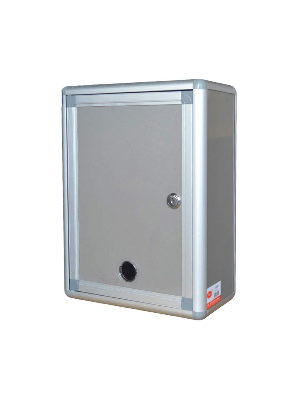 LXFMD En Blanco Caja de sugerencias Grande Pared Aluminio aleaci/ón Cerradura Empleado Personalidad Comunidad Hotel