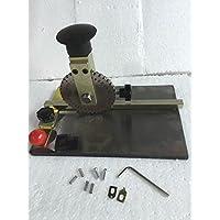 WelljoinStamping Embosser Manual Embossing Machine Metal Deboss Plate Dog Tag Printer