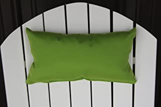 product image for Furniture Barn USA Outdoor Adirondack Chair Head Pillow in Sundown Material- Lime Green