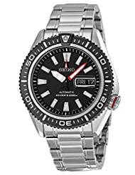 Seiko Divers Automatic Black Dial Stainless Steel Mens Watch SRP495