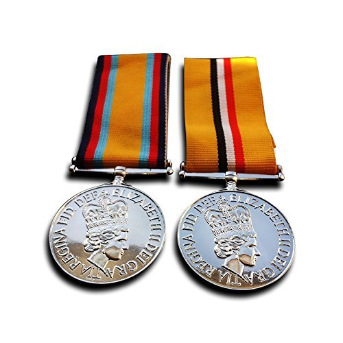 Iraq Campaign Service Medal (Military Medals Iraq Medal - 2003-2011 , Gulf War Medal - British Campaign Medals 1990 New Repro)
