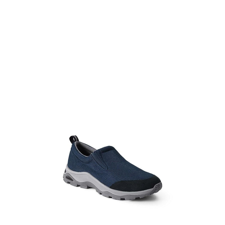 Lands' End Men's Mesh Trekker Shoes, 13, Classic Navy