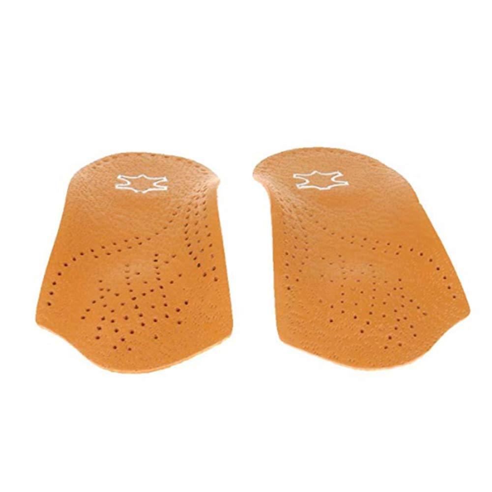 NiceButy 1/par Arco de Apoyo Unisex 3//4/Plantillas Longitud Piel Arco ortop/édico Plantillas pie Plana juanetes Corrector Insert Pads Zapatos Utiles y Bien