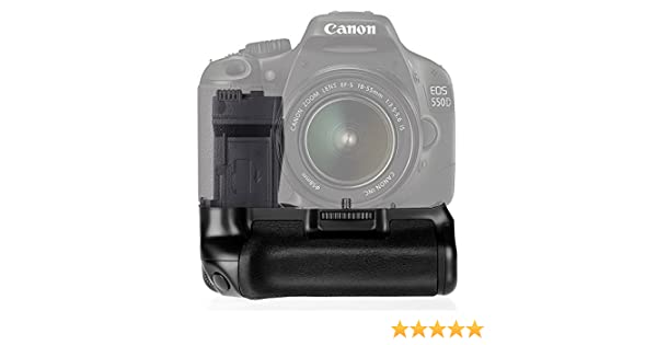 FOSITAN BG-1F Empuñadura Batería Grip Vertical para Canon EOS 550d ...