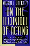 On the Technique of Acting, Nor Simpson and Michael Chekhov, 0062730371