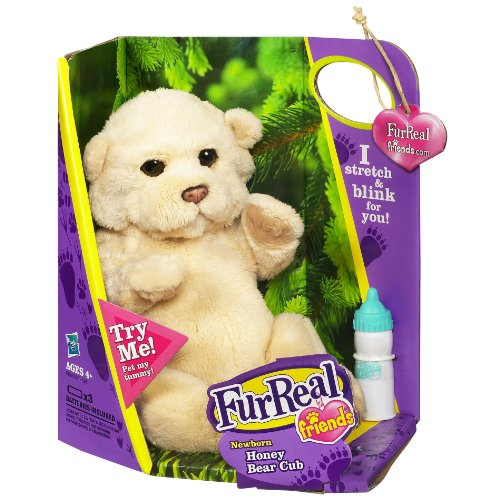- Furreal Friends Newborn Honey Bear Cub